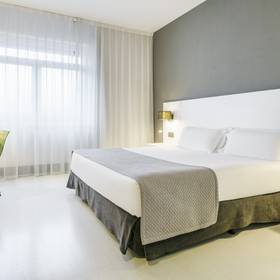 Double room hotel ilunion bilbao