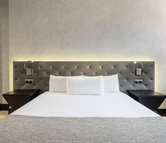 Double room hotel ilunion bel art barcelona