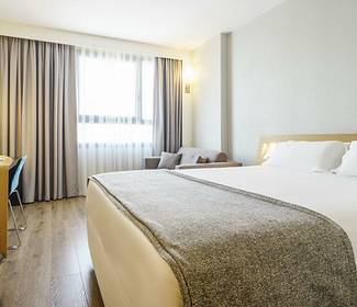Double room hotel ilunion valencia 4