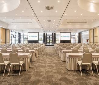 Event room and catering hotel ilunion pío xii madrid