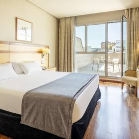 Double room hotel ilunion alcalá norte madrid