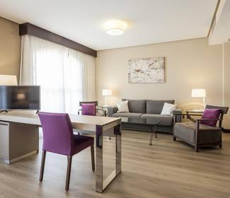 Suite hotel ilunion golf badajoz