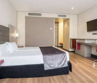 Double room hotel ilunion barcelona